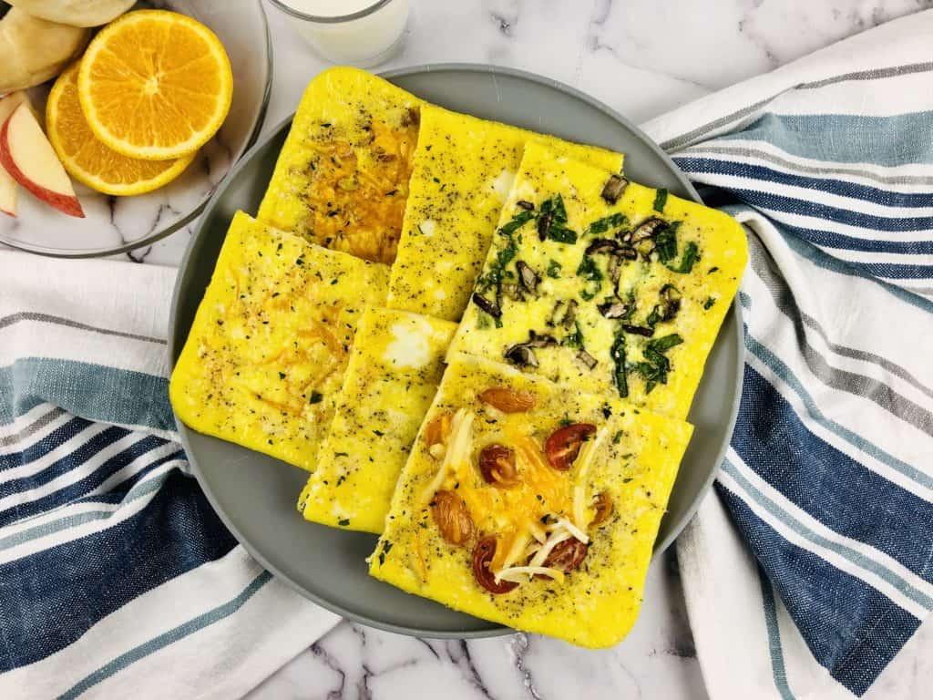 En tan solo 25 minutos puedes preparar una deliciosa comida que le encantará a toda tu familia. ¡Esta omelette al horno también es súper nutritiva!